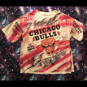 Vintage 1991 Chicago Bulls Champion Tee